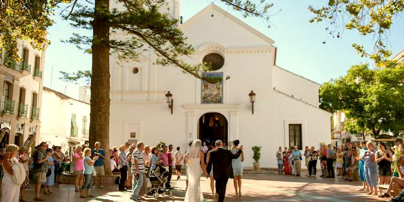 Wedding el Salvador church